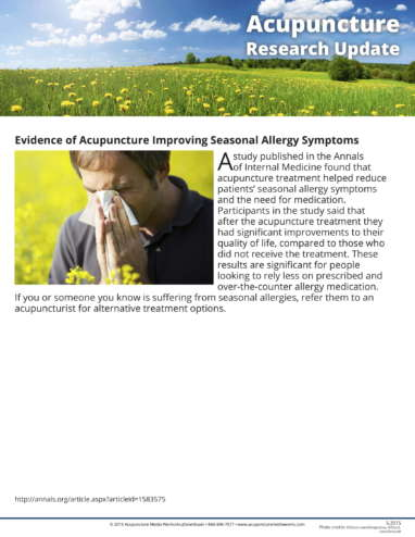 Allergies and Arthritis Research Update-1