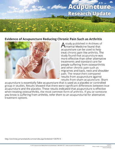 Allergies and Arthritis Research Update-2