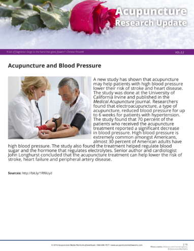 Blood Pressure Research Update 2.2-1