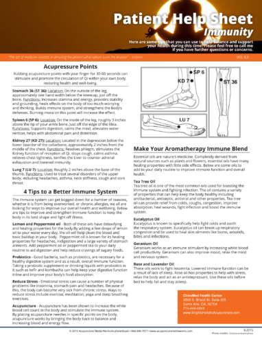 Boost Immune System Helpsheet-1