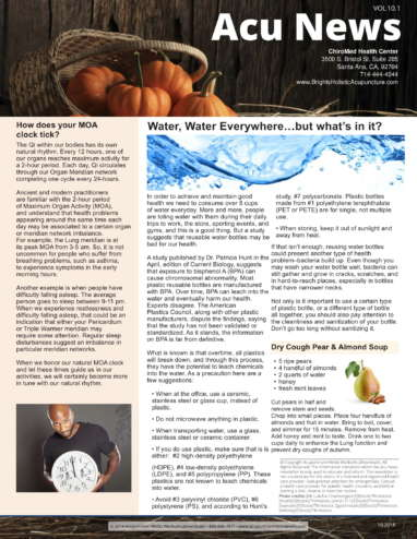 Cough and Water Newsletter-1