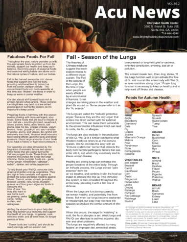 Fall season for Lungs NewsLetter-1