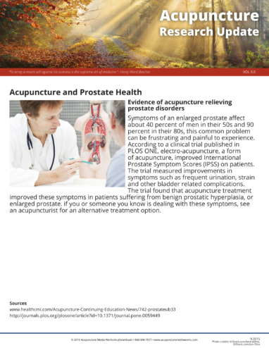 Prostate and Ovarian Health Research Update-1