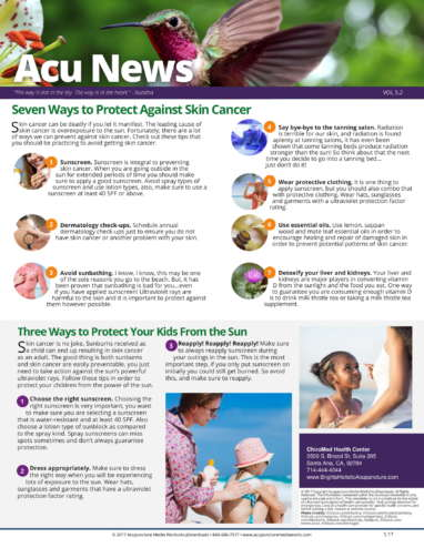Skin Cancer newsletter2_201705-1