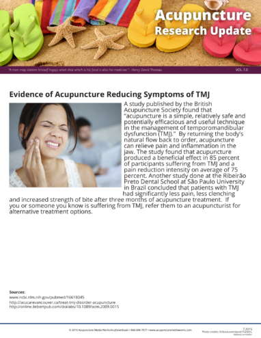 TMJ and Tinnitus Research Update-1