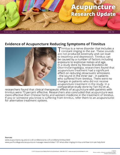 TMJ and Tinnitus Research Update-2