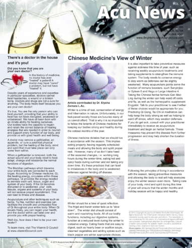 Winter Time Newsletter-1